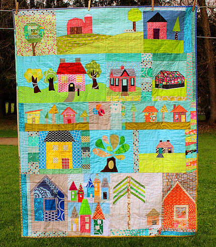 Stitched in Color Do Good Quilt