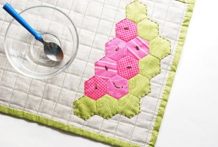 watermelon placemat tutorial