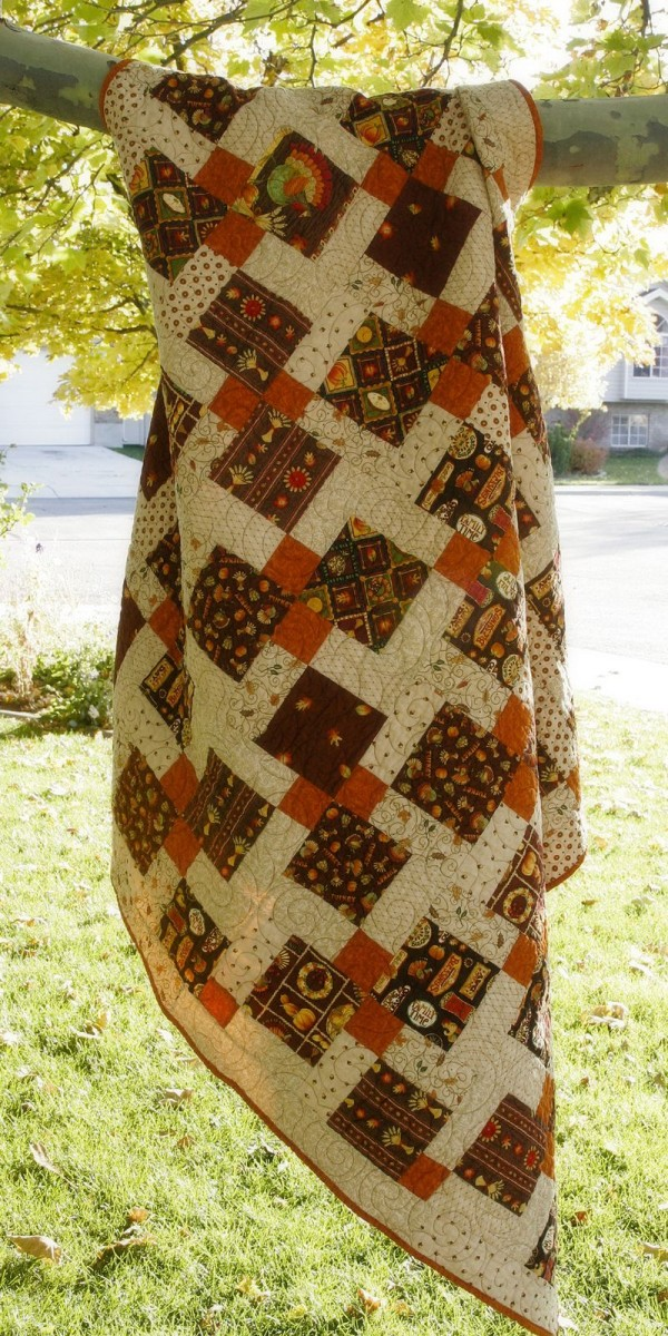 fall quilt tutorial