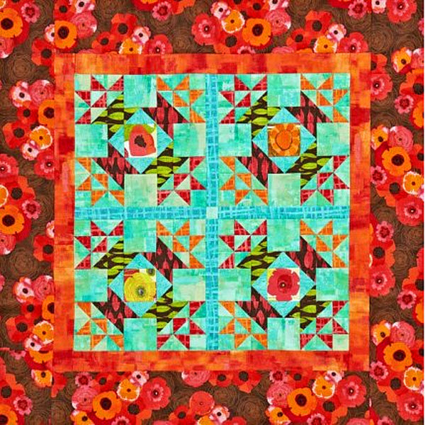 Free Quilt Patterns For Large Prints : Perfect quilt for using your large fabric prints Quilting
