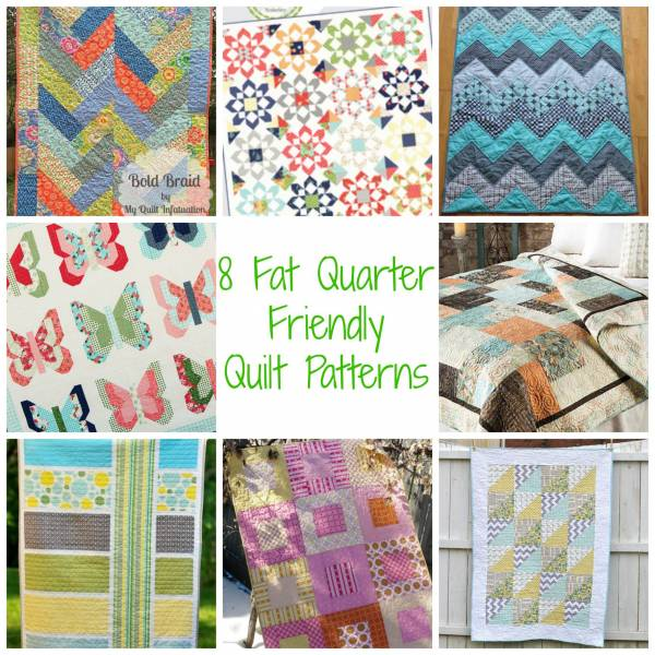 Quilting Patterns With Fat Quarters : Quilted crafts made with fat quarters