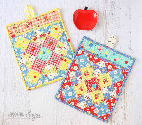 Fiesta potholder tutorial