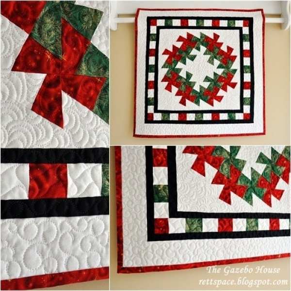 6 Christmas Quilts Using the Twister Template Quilting