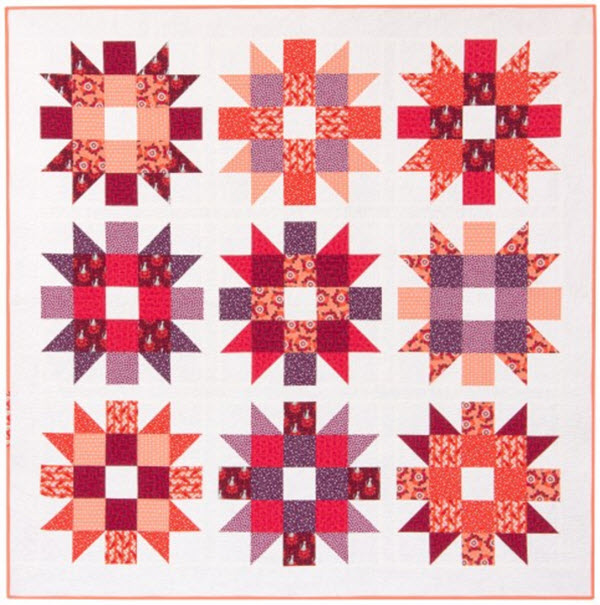 Genny Ruth quilt pattern free download