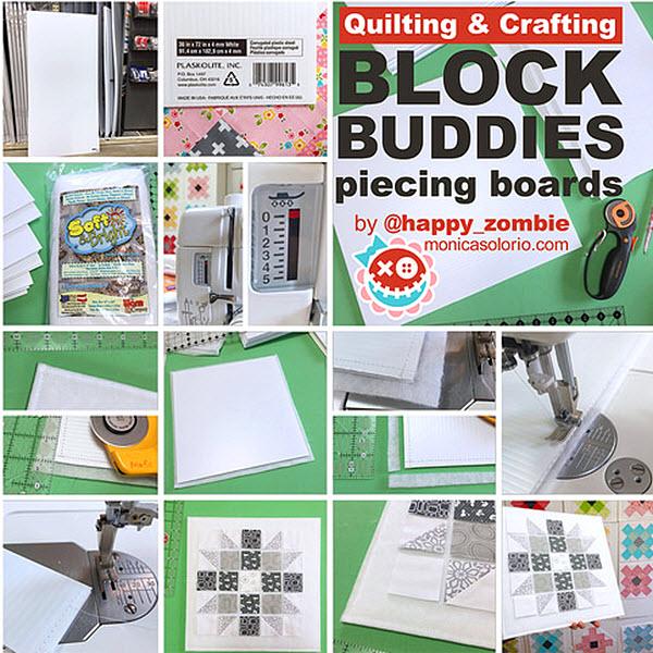 Block Buddies Piecing Boards