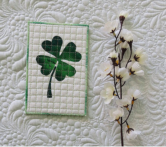Lucky Clover Three Projects Free Pattern Geta