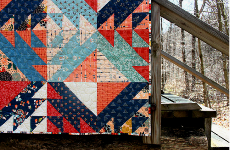 Tutorial: Diamond Weave Quilt Block