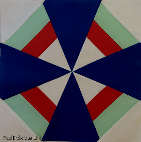 Free Quilt Block Pattern: Dutch Windmill