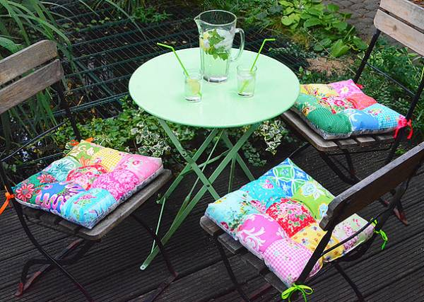Chair cushions tutorial an intro to patchwork