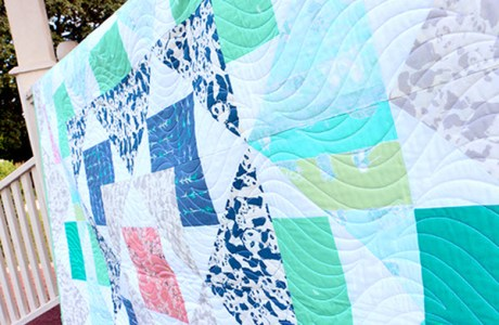 Freebie: Palisades quilt pattern + tute