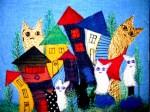 "Cats TownInge Reinholdt8"" x 10"""