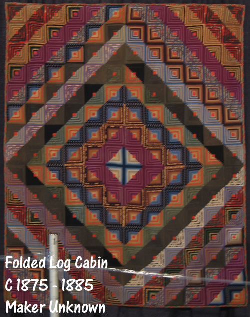 folded log cabin