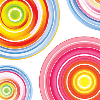 colorful-concentric-circles-by-dragonart