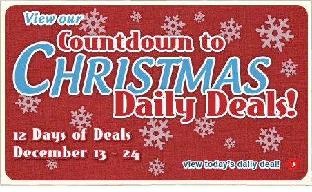 Countdown to Christmas Daily Deals