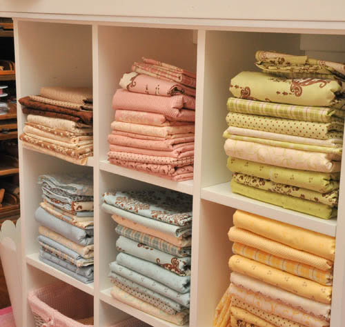 Anne Fabric storage