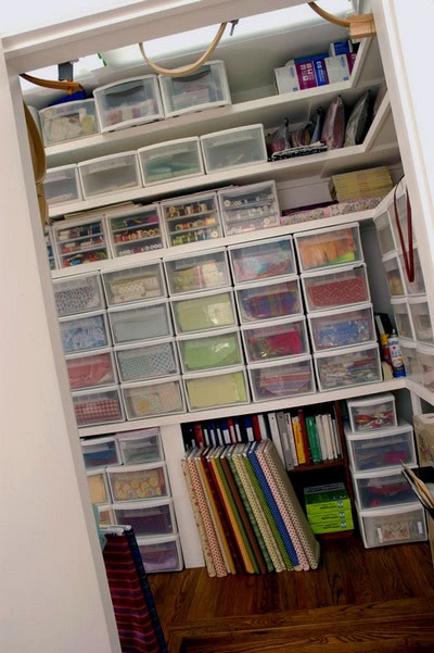 More fabric storage ideas from American Patchwork & Quilting