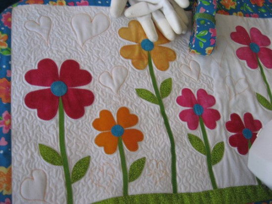 Love-ly Garden Quilting