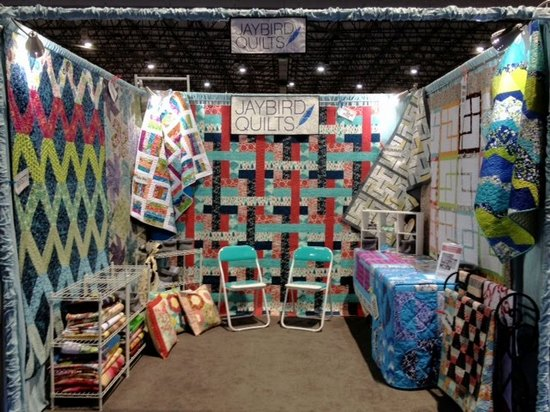 Jaybird Quilts booth