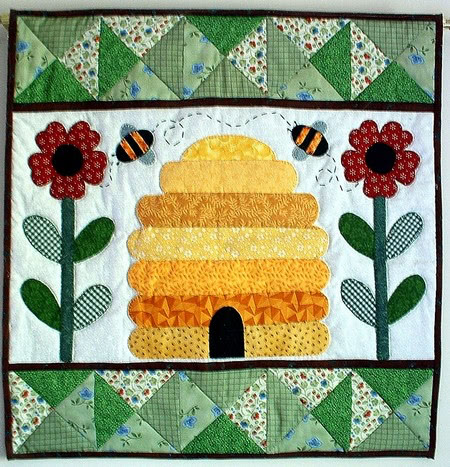 Patchsmiths Bee Hive Quilt