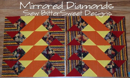 Mirrored Diamonds