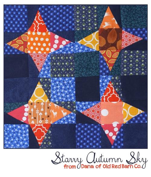 Starry Autumn Sky