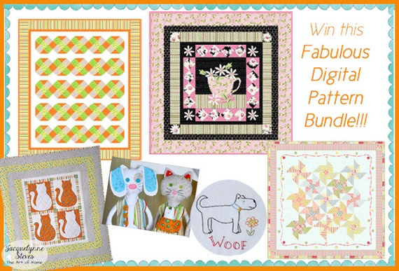 E-Digital Pattern Bundle- Jacquelynne Steves- QG