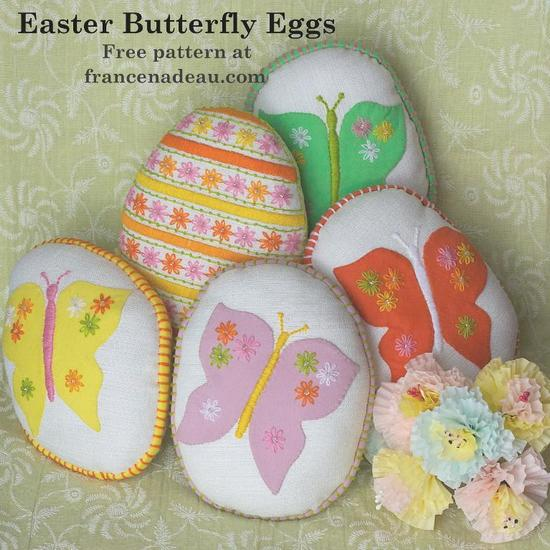Easter Butterfly Eggs