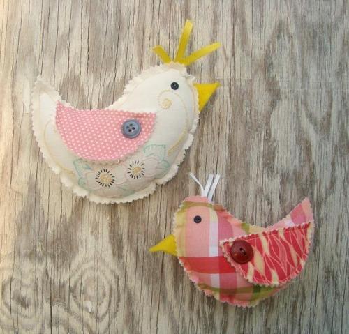 Spring Chick Plushie