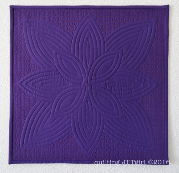 Purple Passion - Backing