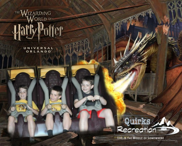 Harry Potter and the Forbidden Journey - Islands of Adventure, Universal Orlando