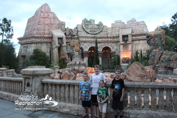 Poesidon's Fury - Islands of Adventure, Universal Orlando