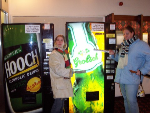alcohol vending machine