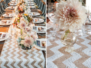 5 Table Runner Ideas For Your Wedding