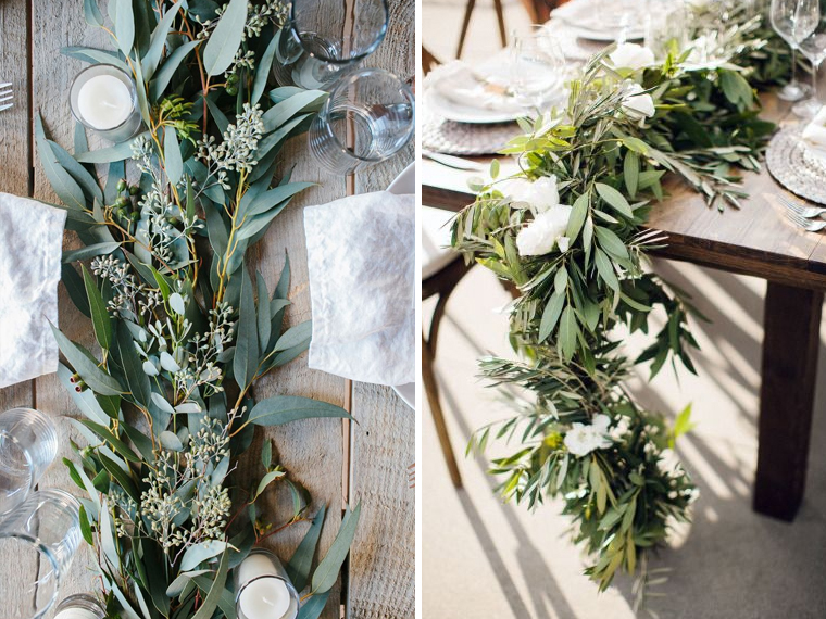 quirkyparties - table runners - floral