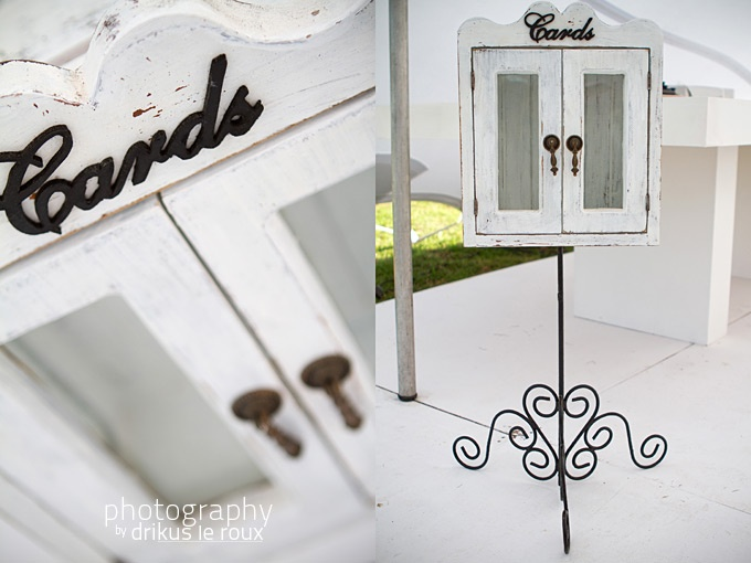 Quirky Parties - Rustic Card Cupboard