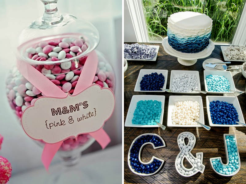 Quirkyparties - Art of Candy Buffet | Colours