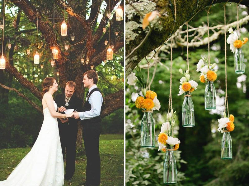 QuirkyParties Bottle Hanging Tree