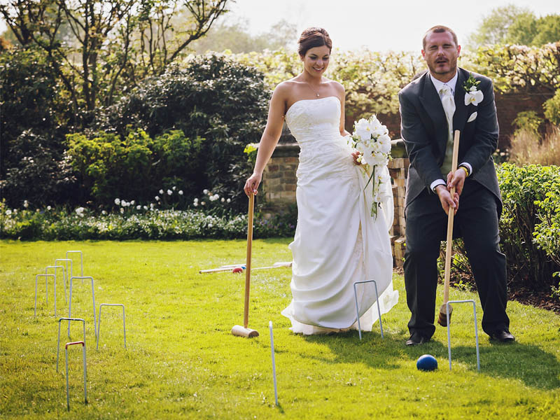 Quirky Parties Lawn Games Croquet