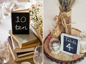 9 Elegant Table Number Ideas