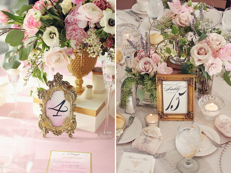 QuirkyParties Table Number Inspiration - Frame 2