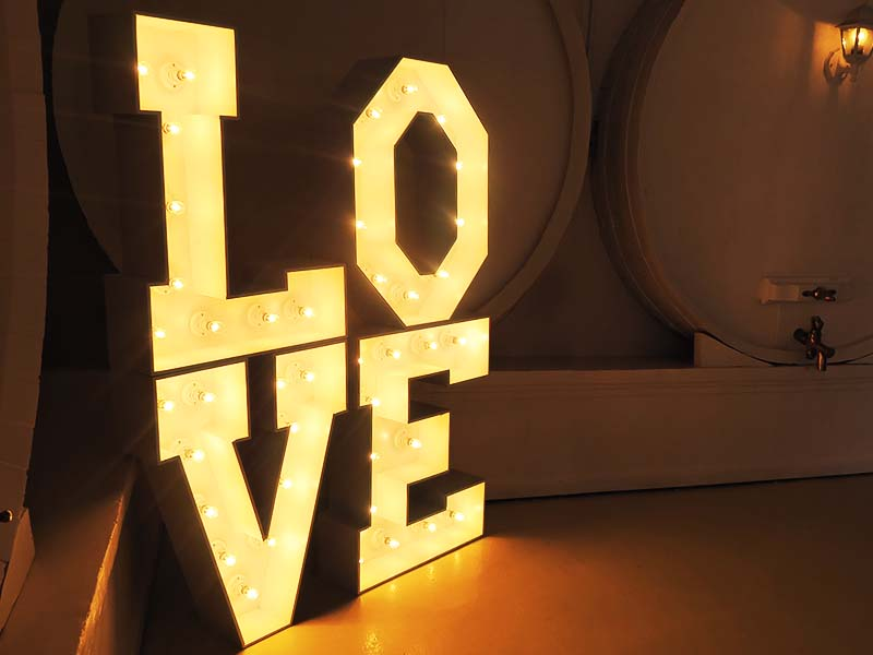 Marquee lights - Quirky Parties