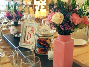 Rustic Table Decor - Quirky Parties