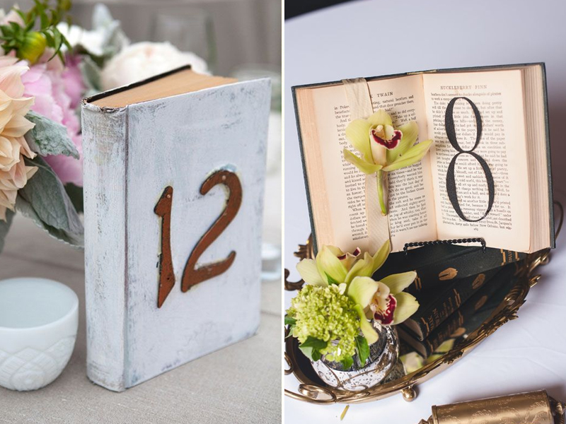 Quirky Parties Table Number