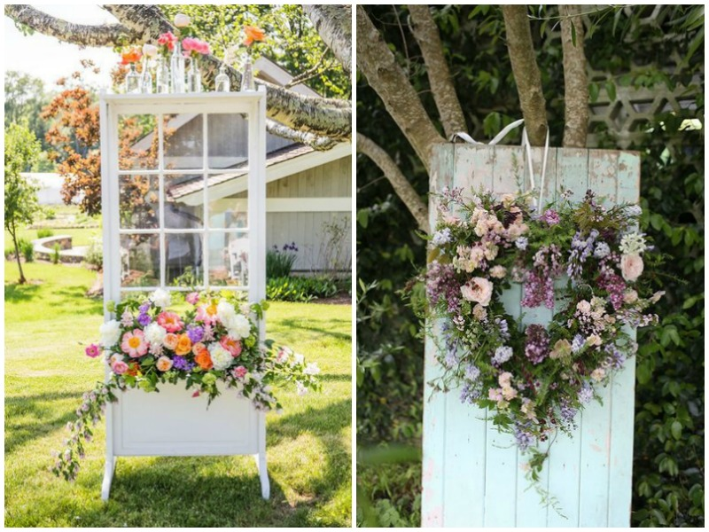 Vintage Doors Wedding Decor - Quirky Parties