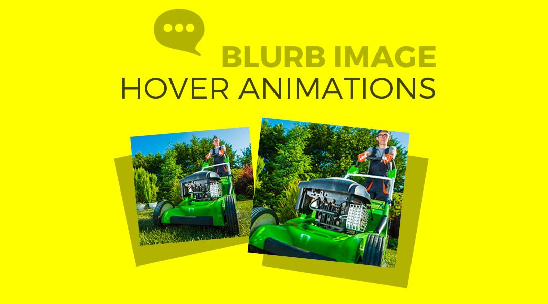 Divi Blurb Image Hover Animations