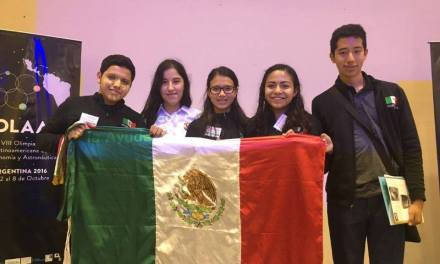 Joven yucateca representa a México en la Olimpiada Latinoamericana de Astronomía y Astronáutica