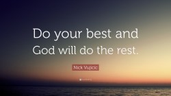 Small Of Do Your Best Quotes