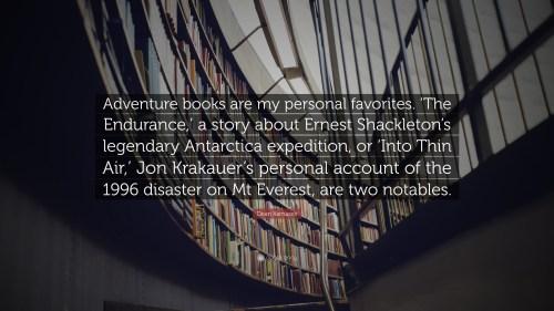 Medium Of My Adventure Books