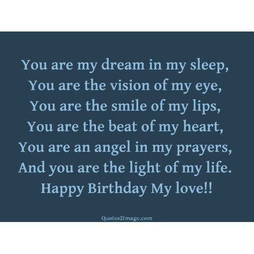 Medium Crop Of Birthday Love Quotes