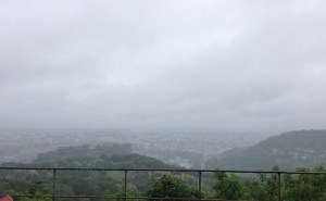"Rain obscuring ""wonderful view"" over Besançon"